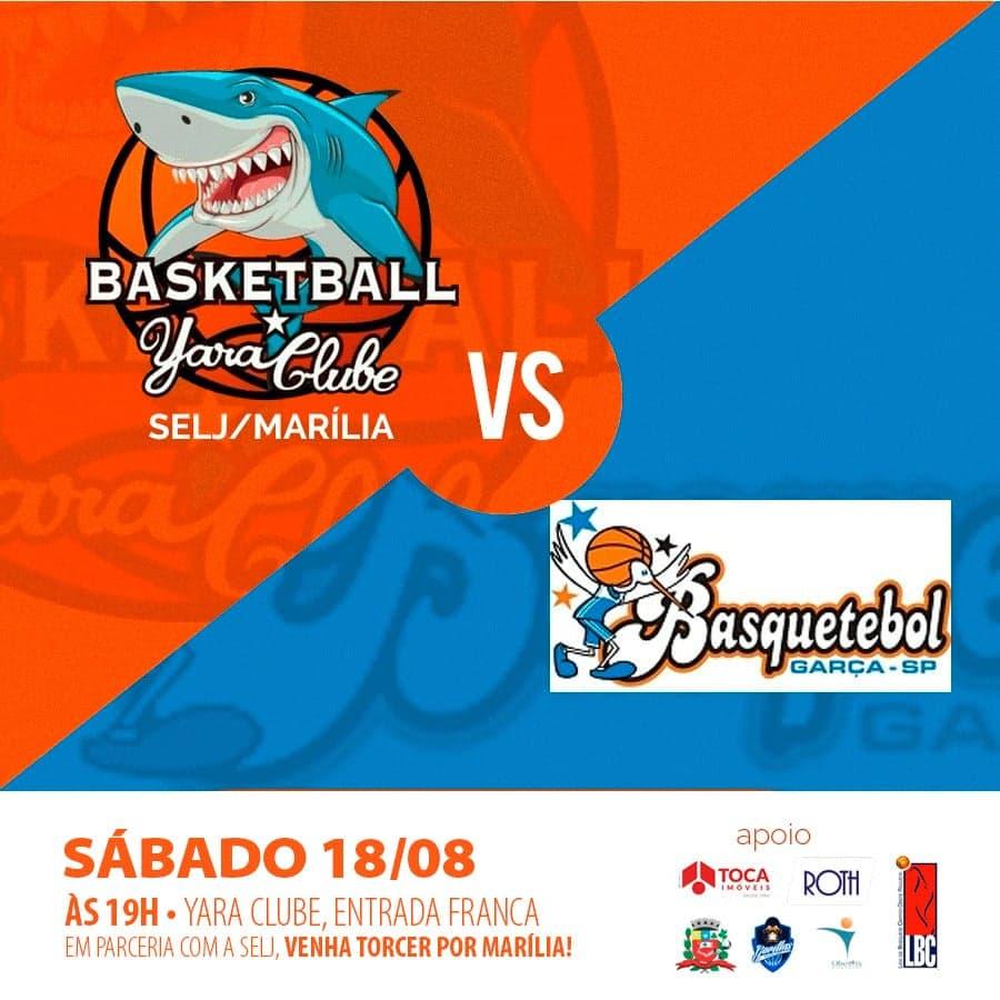 Yara Basket recebe o Garça pela Liga Regional do Centro Oeste Paulista