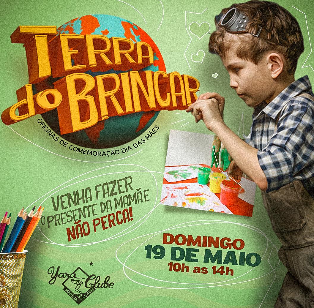 No mês das mães, Terra do Brincar tem atividades especiais neste domingo
