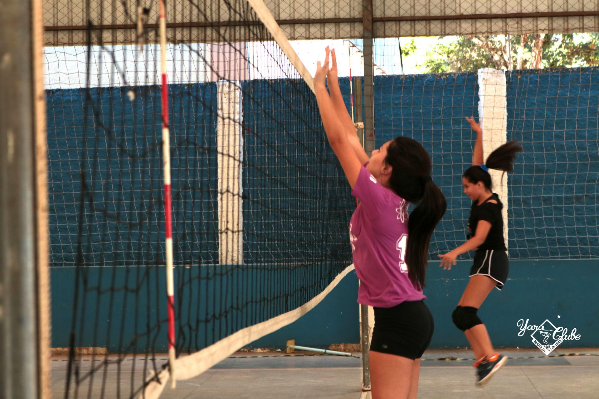 Voleibol - O treinamento de bloqueio