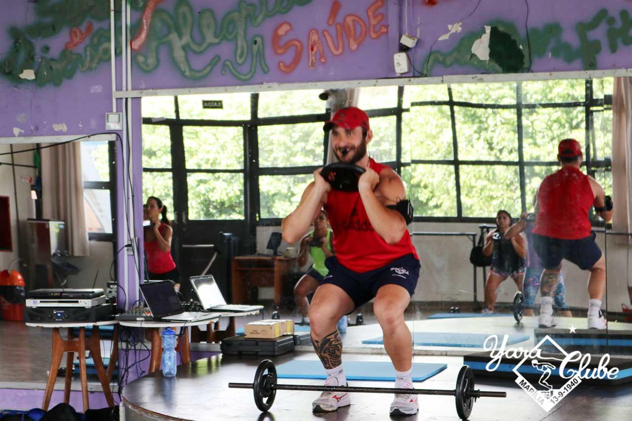 Com estrutura fitness grandiosa, Yara tem eficazes e dinâmicas aulas de Body Pump