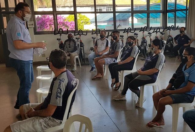 Higiene e Sanitização:  Yara Clube de Marília atualiza colaboradores