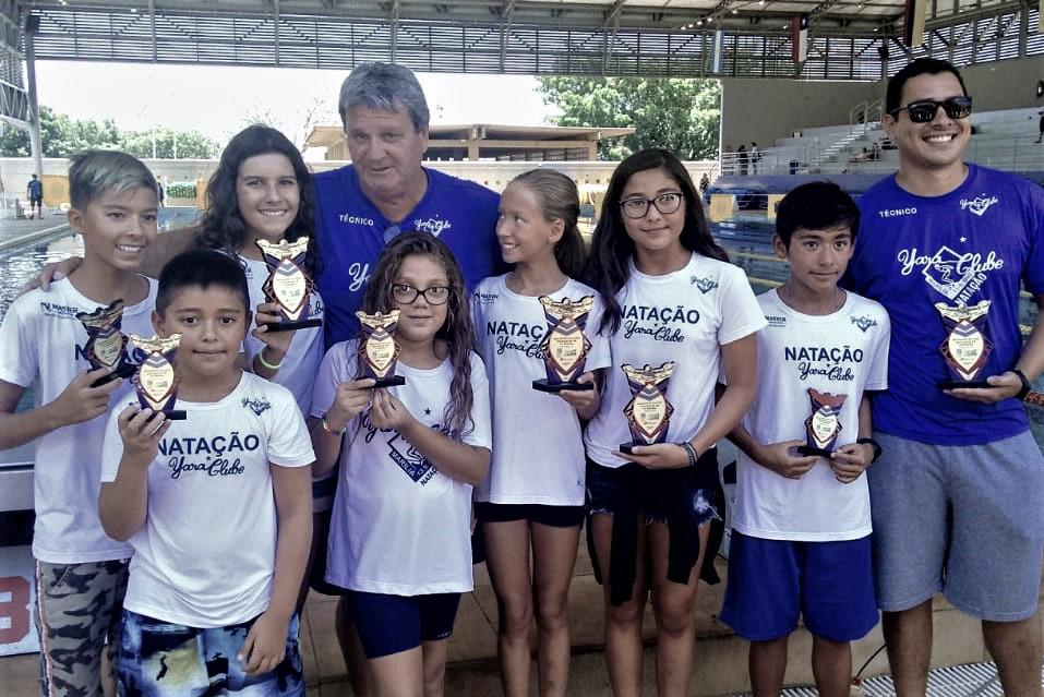 Yara Clube de Marília tem sete entre melhores nadadores da região em 2019