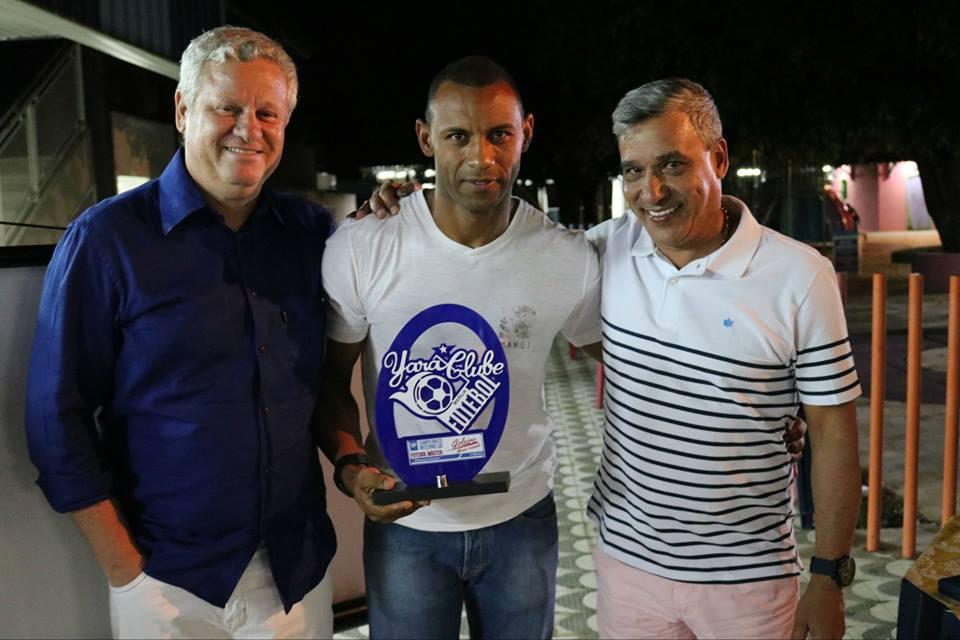 Yara homenageia patronos e faz premiação dos campeonatos internos de futebol
