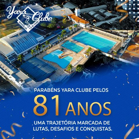 Yara Clube completa 81 anos de legado no esporte, lazer e promoção social