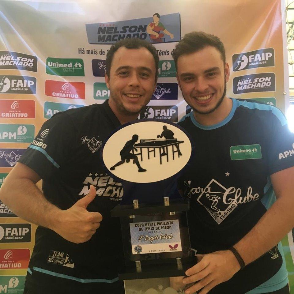 Tênis de Mesa conquista 3º lugar geral na Liga Oeste Paulista