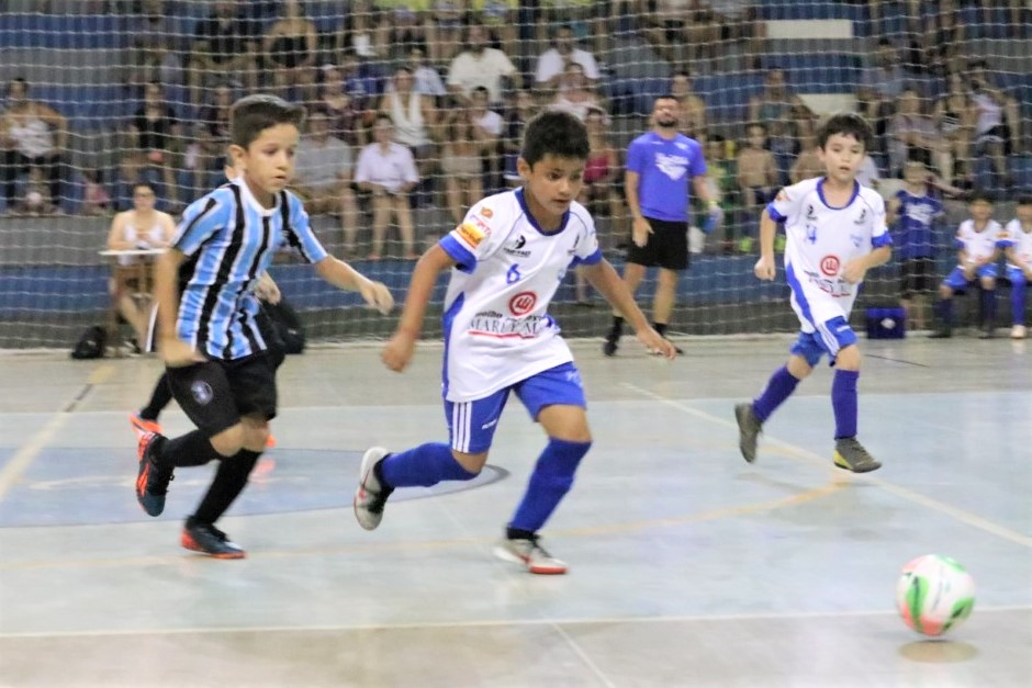 Yaraconquista 2 e 3 lugares na 6 Copa Municipal Alcides Matiuzzi de Futsal, Cat. Sub/09