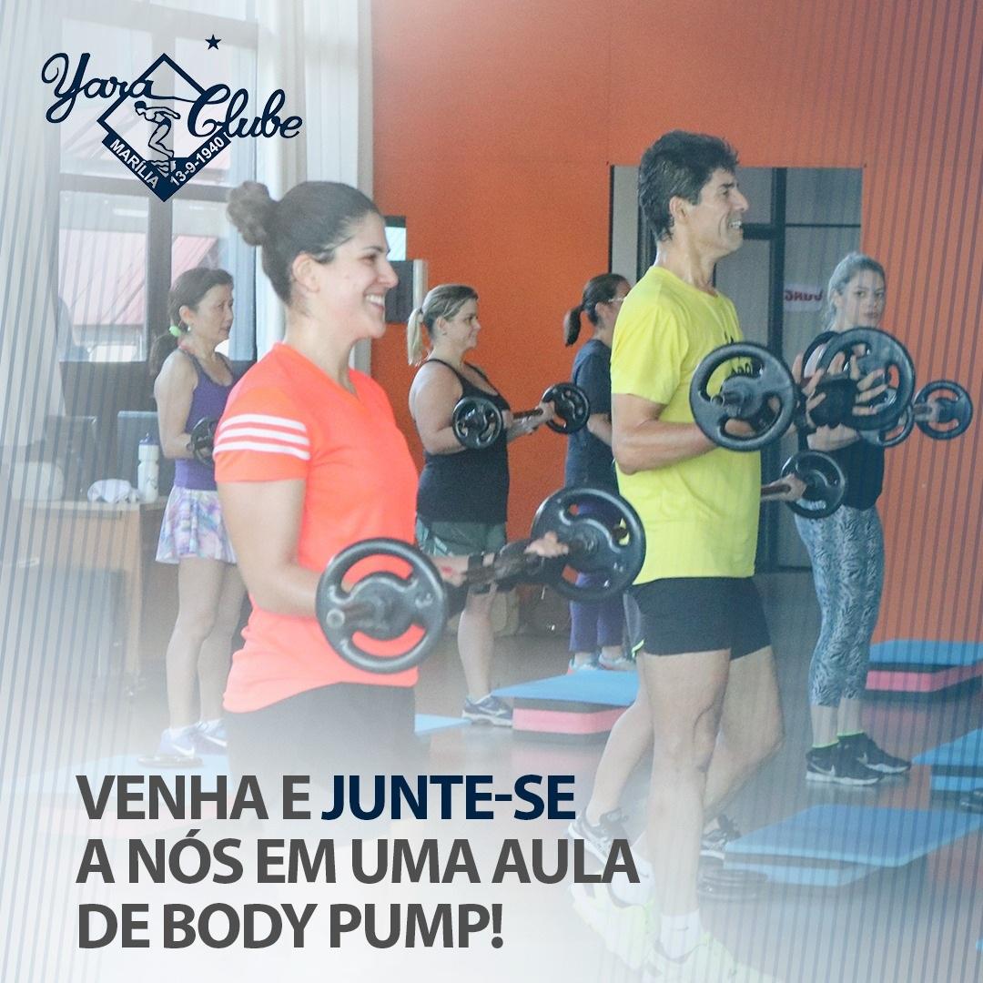 Body Pump para tonificar músculos